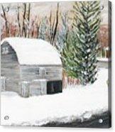 Barns Of West Sand Lake 2 Acrylic Print