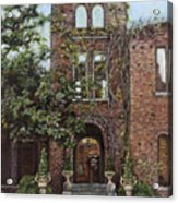 Barnsley Garden Ruins Acrylic Print