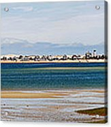 Barnstable Harbor Panorama Acrylic Print