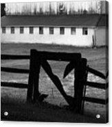 Barnyard Gate Acrylic Print