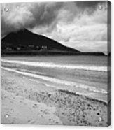 Barnynagappul Strand On The Wild Atlantic Way Coastal Route Doogort Achill Island County Mayo Irelan Acrylic Print