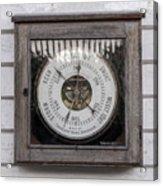 Barometer Acrylic Print