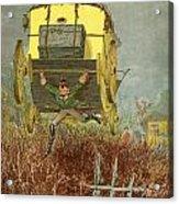Baron Munchausen Carries His Carriage Acrylic Print