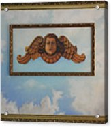 Baroque Angel Acrylic Print
