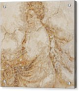 Baroque Mural Painting Acrylic Print