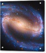 Barred Spiral Galaxy Ndc 1300 Acrylic Print