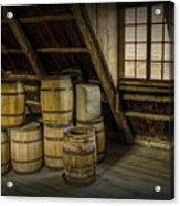 Barrel Casks Acrylic Print