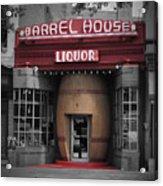 Barrel House Liquor Store Acrylic Print