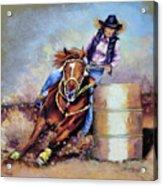 Barrel Rider Acrylic Print