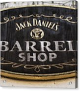 Barrel Shop Acrylic Print