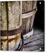 Barrels Acrylic Print