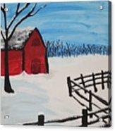 Barren Barn Acrylic Print
