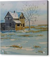 Barren Prairie Acrylic Print