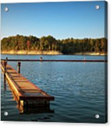 Barren River Lake Dock Acrylic Print