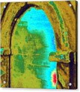 Barrie's New Door Acrylic Print