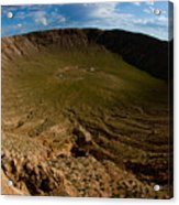 Barringer Meteor Crater #3 Acrylic Print