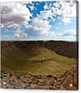 Barringer Meteor Crater #5 Acrylic Print