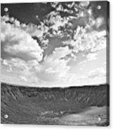 Barringer Meteor Crater Acrylic Print
