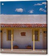 Barrio Viejo Symmetry Acrylic Print