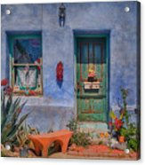 Barrio Viejo With Character Acrylic Print