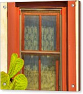 Barrio Window Acrylic Print