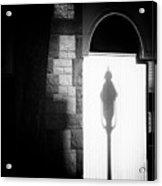 Barristers Window Acrylic Print by Bob Orsillo