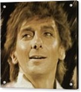 Barry Manilow, Music Legend Acrylic Print