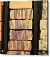 Bars Of Handmade Soap Acrylic Print