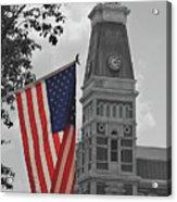 Bartholomew County Court House Acrylic Print