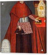 Bartholomew Fabro Y Palacios - Bishop Of Huamanga  Acrylic Print
