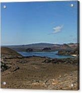 Bartolome Island Panorama Acrylic Print