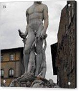 Bartolomeo's Neptune Fountain 2 Acrylic Print