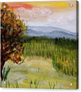 Barton Sunset Acrylic Print