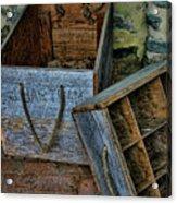 Bartram's Garden Boxes Acrylic Print