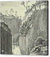 Basalt Rocks And The Cascade De Regla, Acrylic Print