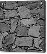 Basalt Wall Acrylic Print