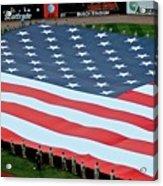 baseball all-star game American flag Acrylic Print