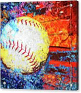 Baseball Art Version 6 Acrylic Print