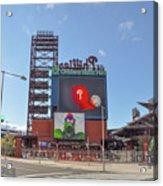 Baseball In Philadelphia - Citizens Bank Park Acrylic Print