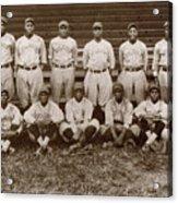 Baseball: Negro Leagues Acrylic Print