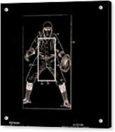Baseball Pitcher's Practice Target Patent 1924 Acrylic Print