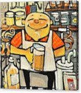 Basement Brewer Acrylic Print