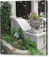 Basement Entry Garden Acrylic Print