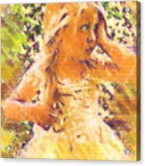 Bashful Acrylic Print