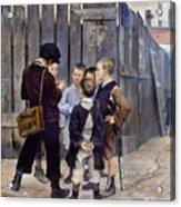 Bashkirtsev: Meeting, 1884 Acrylic Print