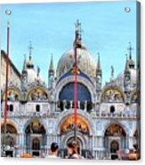 Basilica Di San Marco Acrylic Print