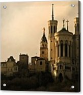 Basilica Of Our Lady Of Fourviere  Acrylic Print