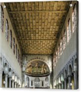 Basilica Of Saint Sabina Acrylic Print