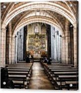 Basilica Of San Isidoro De Leon - Interior Acrylic Print