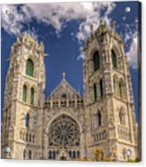 Basilica Of The Sacred Heart Newark New Jersey Acrylic Print